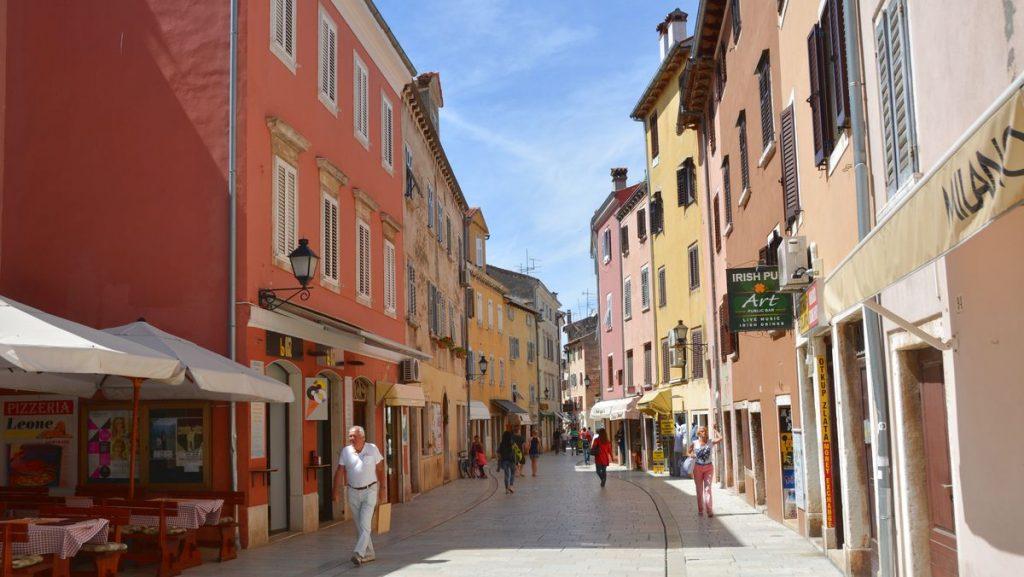 Istrien i Kroatien