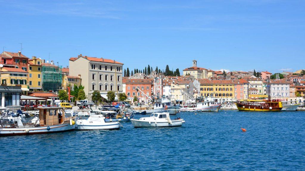 Rovinj i Kroatien