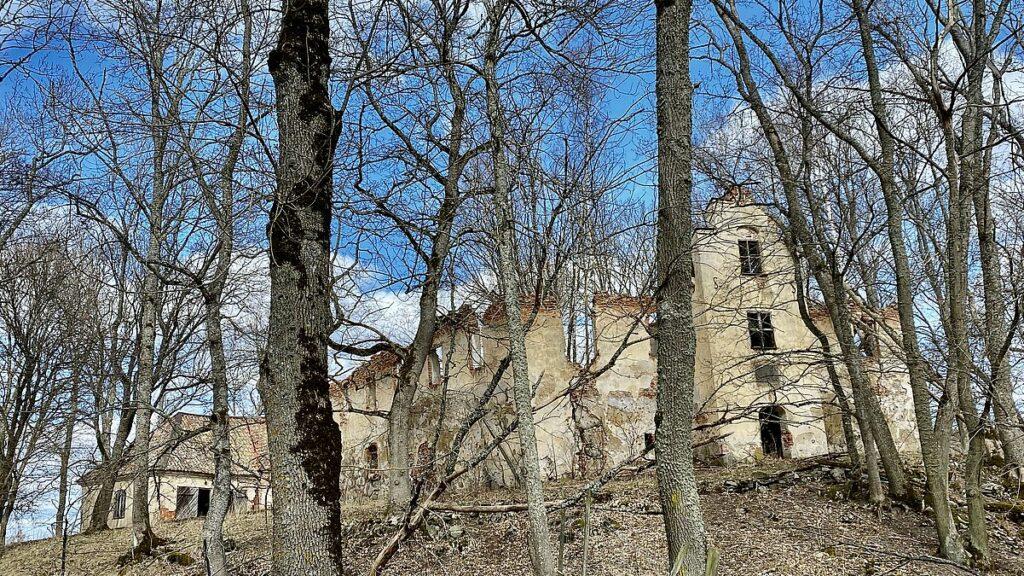 Ruin vid Tidö slott