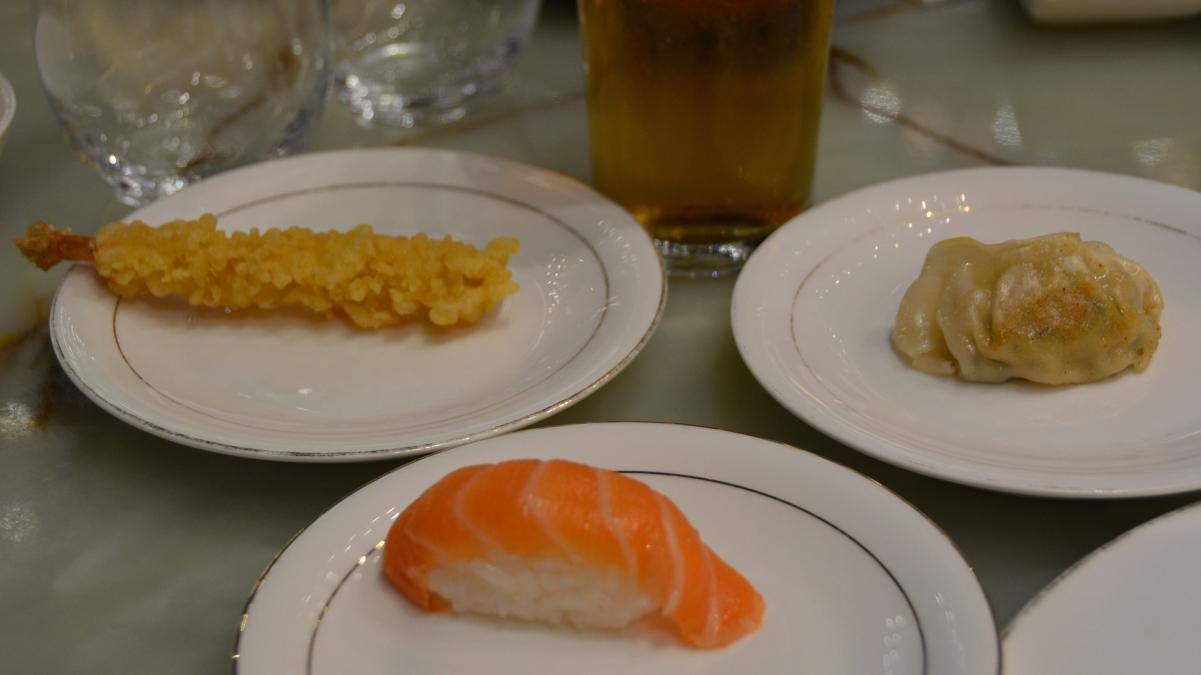 Rullband sushi solna