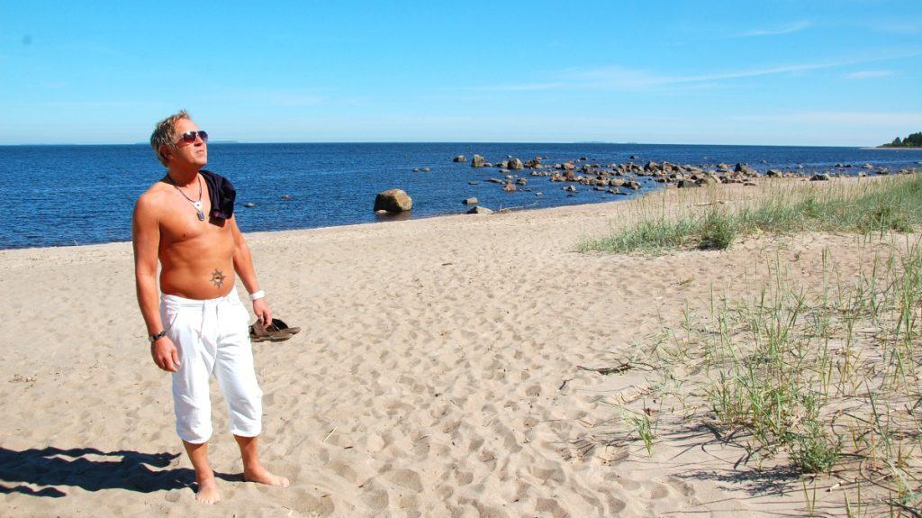 Resmål i norra Sverige - rullsand