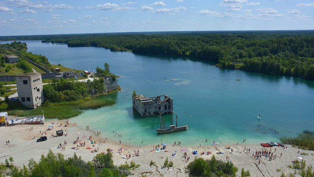 Rummu stebrott i Estland