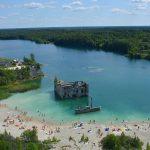 Rummu stenbrott i Estland – fängelse blev badparadis