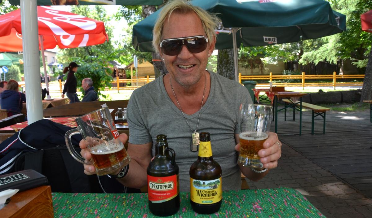 Rysk öl i Bialowieza