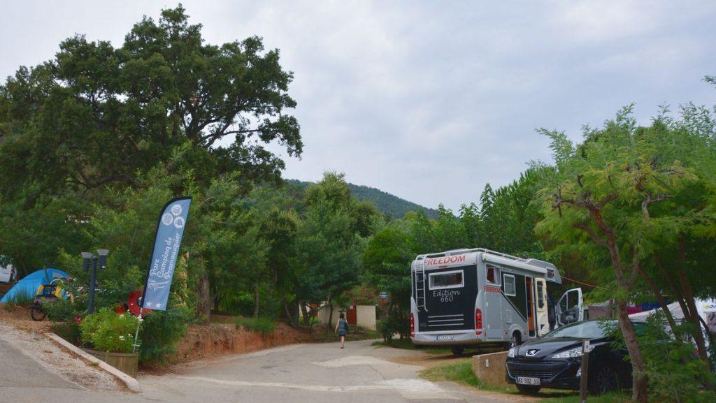 Södra Frankrike camping