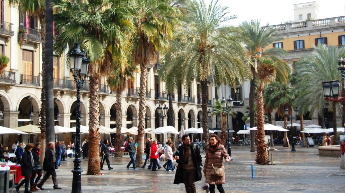 Söndag i Barcelona