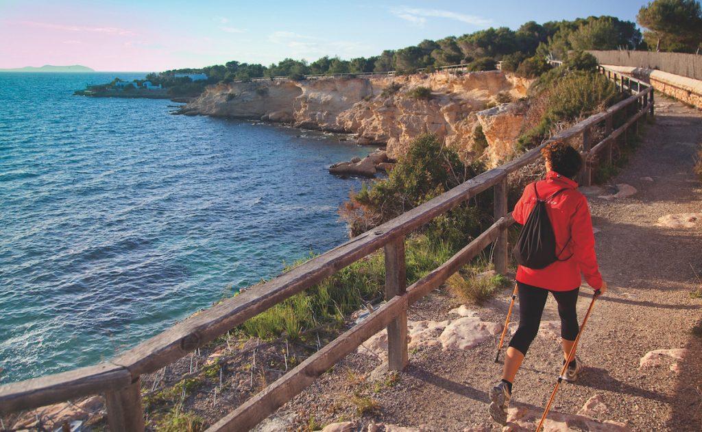 Vandring på vackra Ibiza
