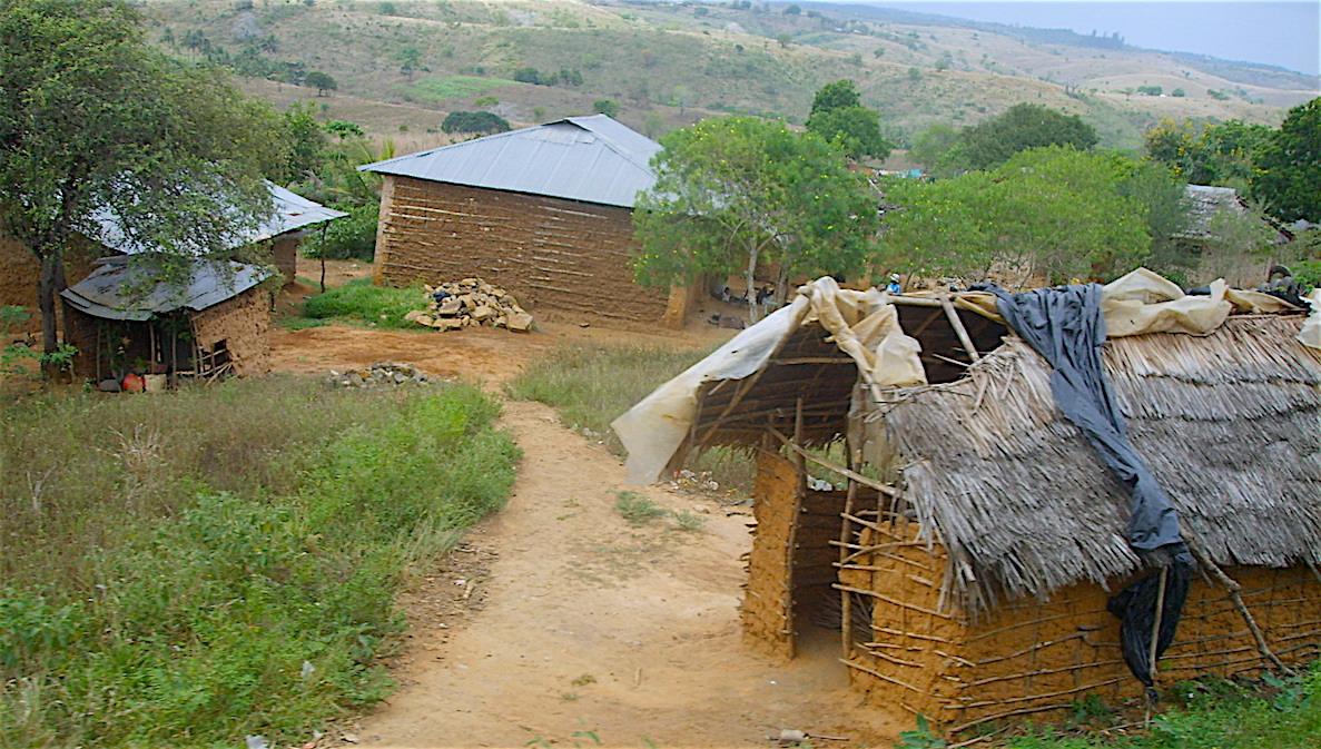 Hus i Afrika