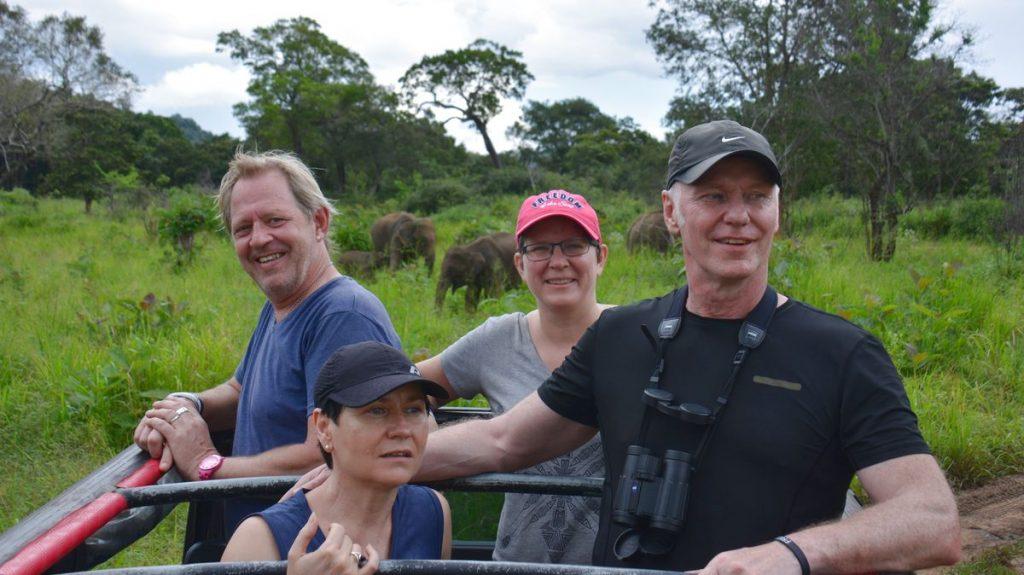 Resetrender 2020, Safari i Sri Lanka