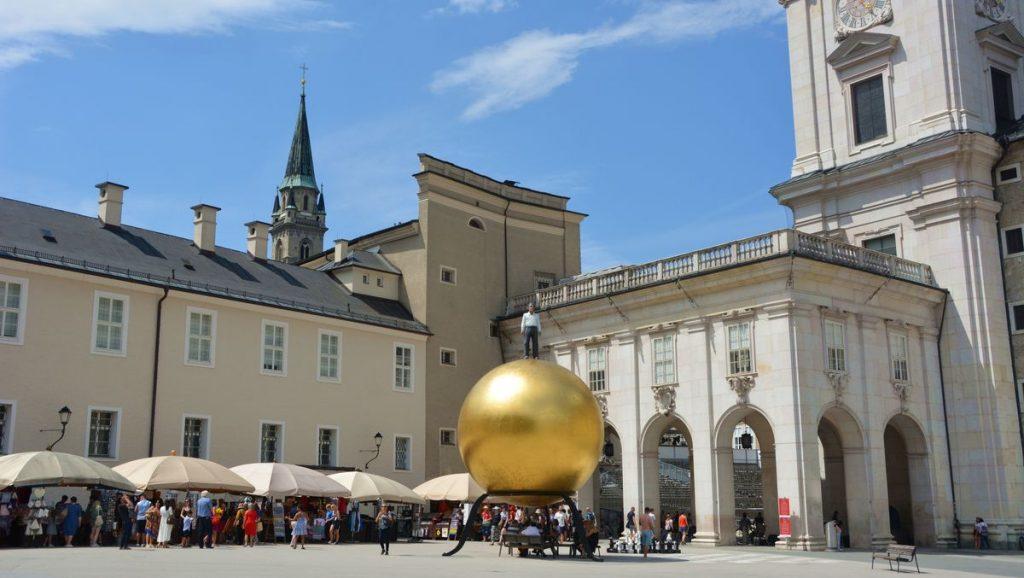 Salzburg gyllene kula