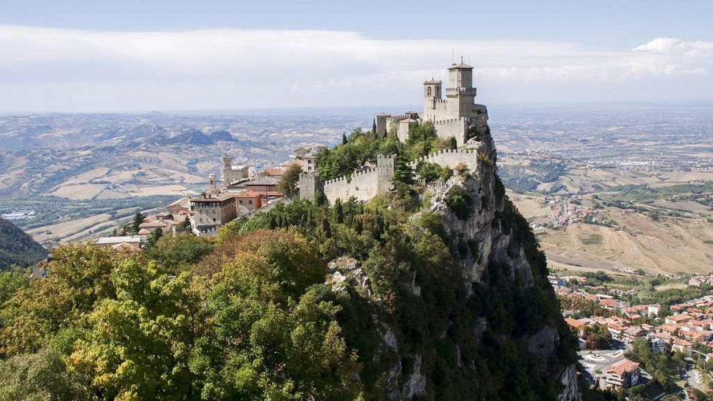 Europas minsta huvudstäder: San Marino