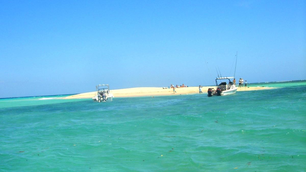 Sandö vid Tanga i Tanzania