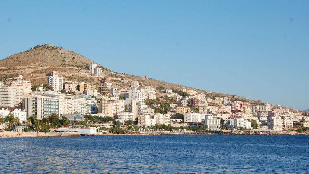 Info om Saranda i Albanien