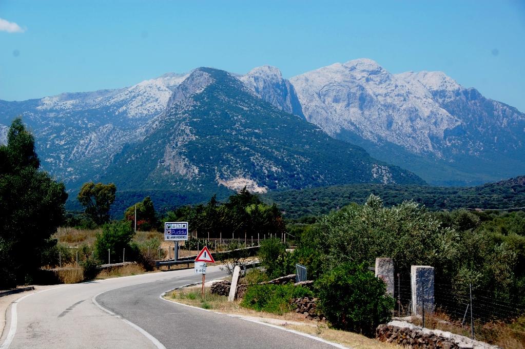 Berg på Sardinien, strax efter Cala Gonone