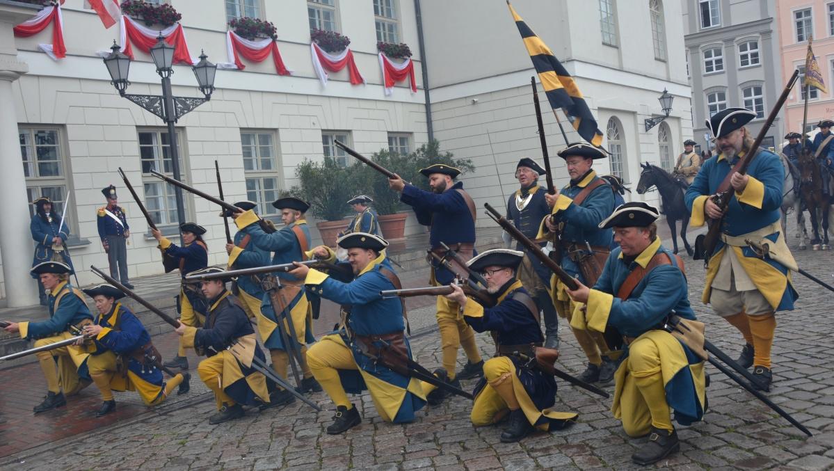 Schweden fest Tyskland