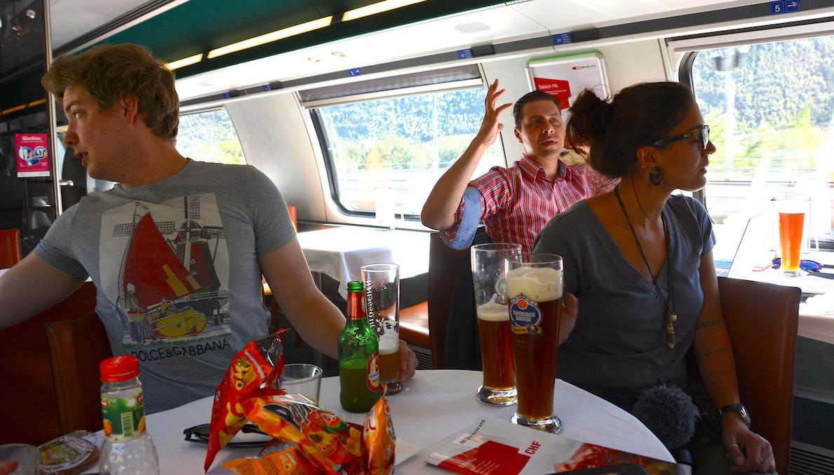 Schweiz, tåg