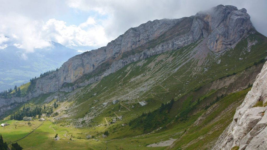 Schweiz berget Pilatur