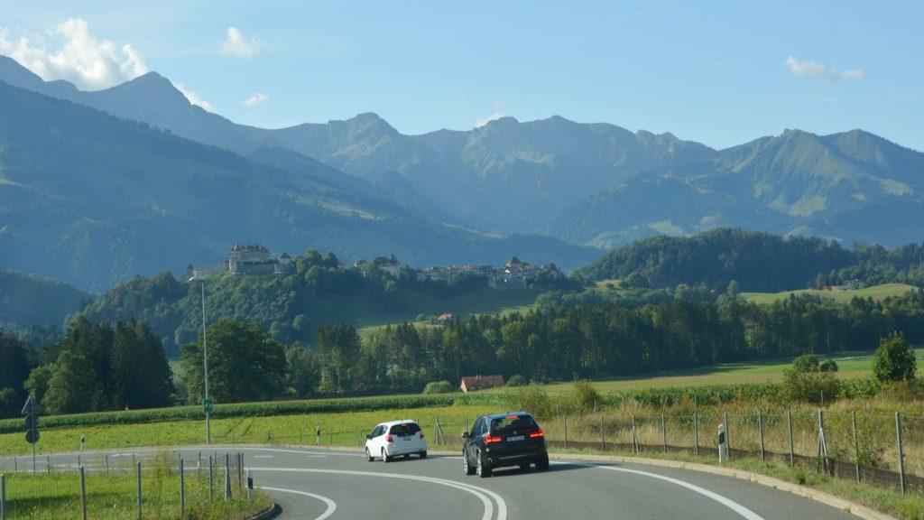 Schweiz väg