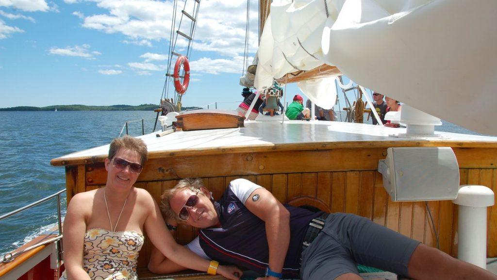 Segelbåt Halifax