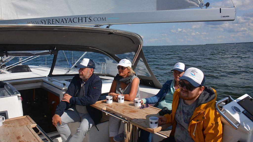 Segling från Greifswald till Kröslin marina