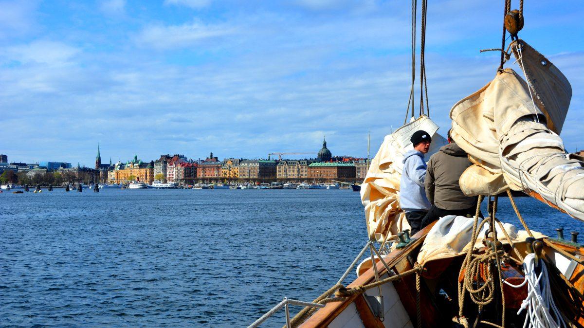 Segling mot Stockholm