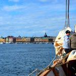 Att segla till Stockholm i ett skolfartyg