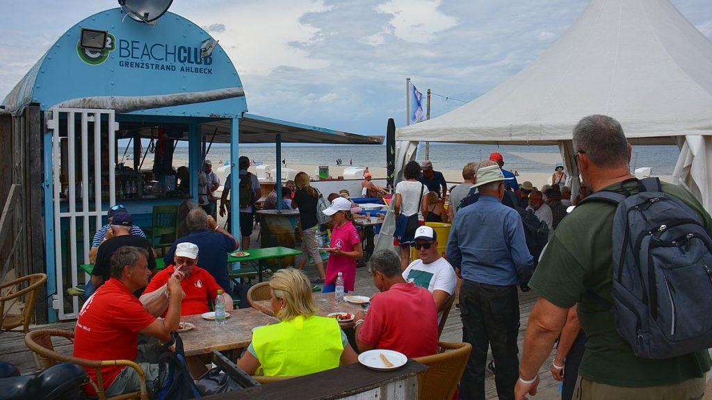 Beachclub på ön Usedom