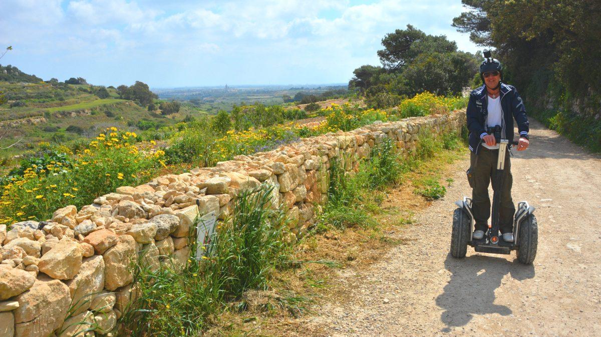 Segway på Malta