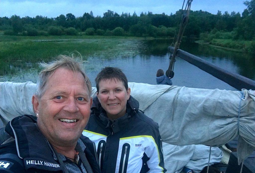Vid sjön Peipsi i Estland