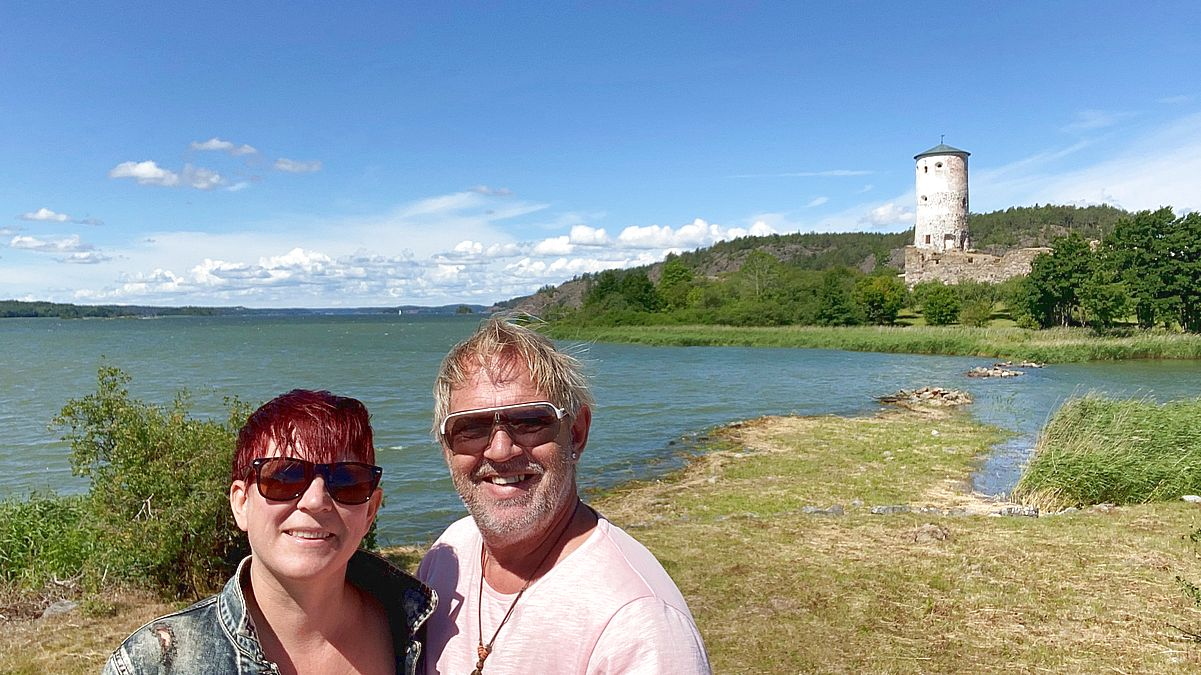Selfie i Stegeborg