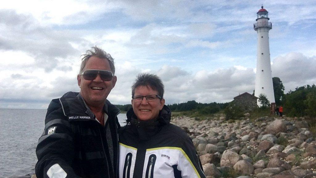 Selfie vid Kynö i Estland