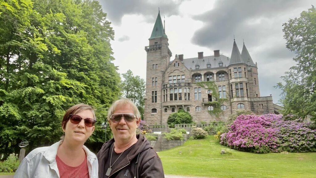 selfie vif Teleborgs slott