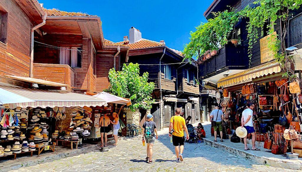 Göra i Nesebar i Bulgarien