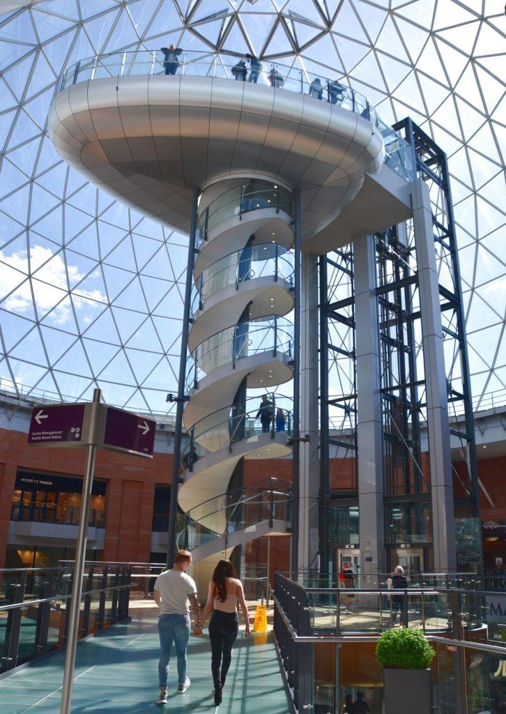 Shoppingcentret Victoria i Belfast