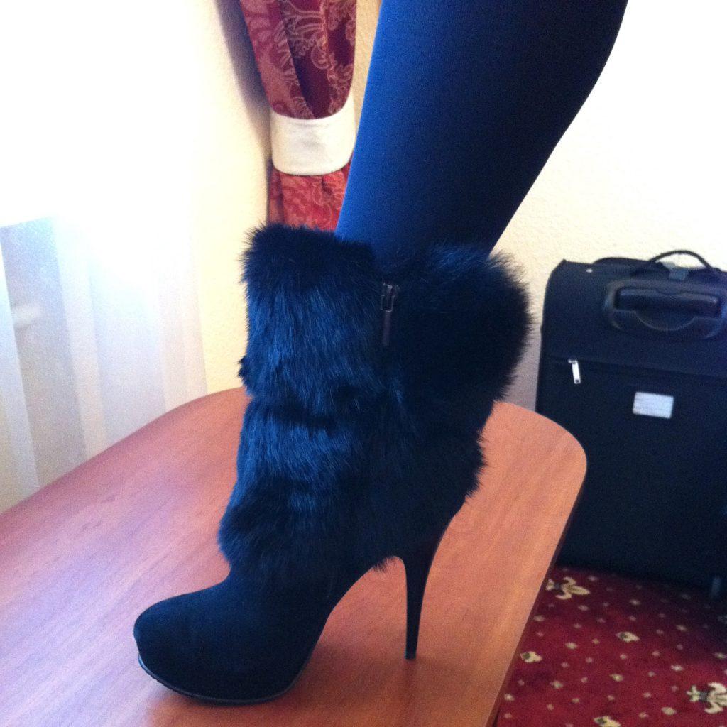 Några resultat från vår shopping i Kiev