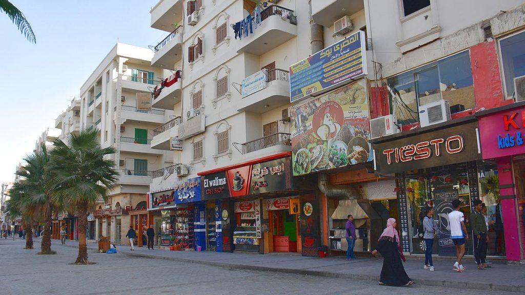 Göra i Hurghada - shoppa på Sherry street