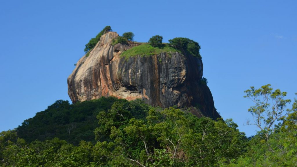 Lejonberget i Sri Lanka