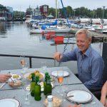 Midsommar i husbåten – och årets midsommarmeny