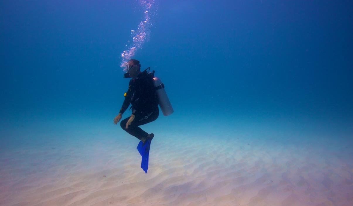 Sinnesro under vattnet
