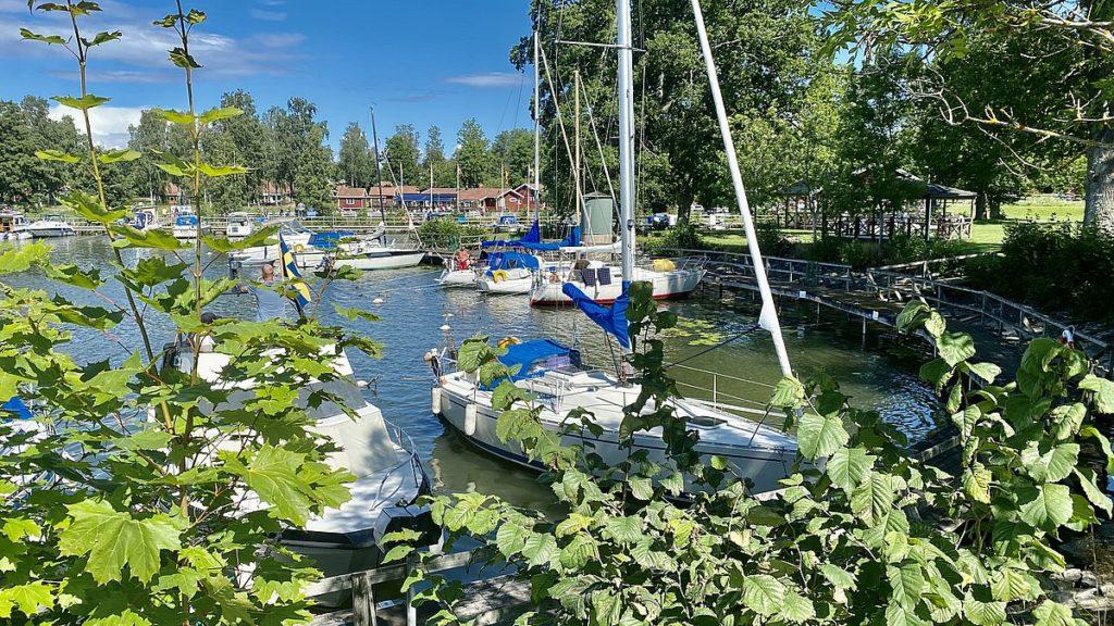 Göta kanal med husbil - Sjötorp