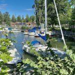 Sjötorp – och slussarna i Norrqvarn