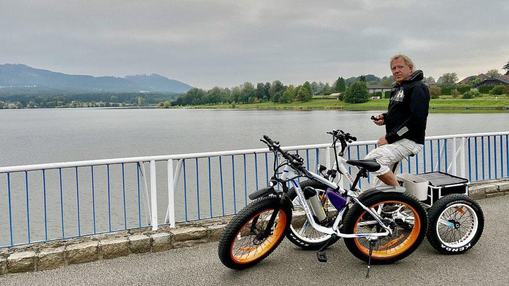 Cykeltur runt sjön Olesna