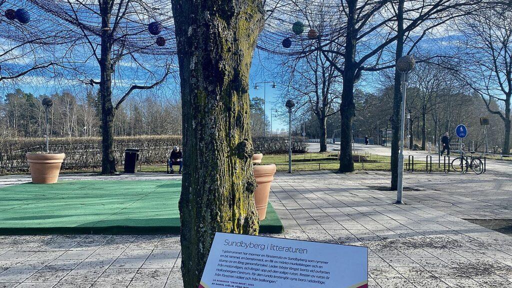 Sundbyberg i litteraturen - Hallonbergsplan