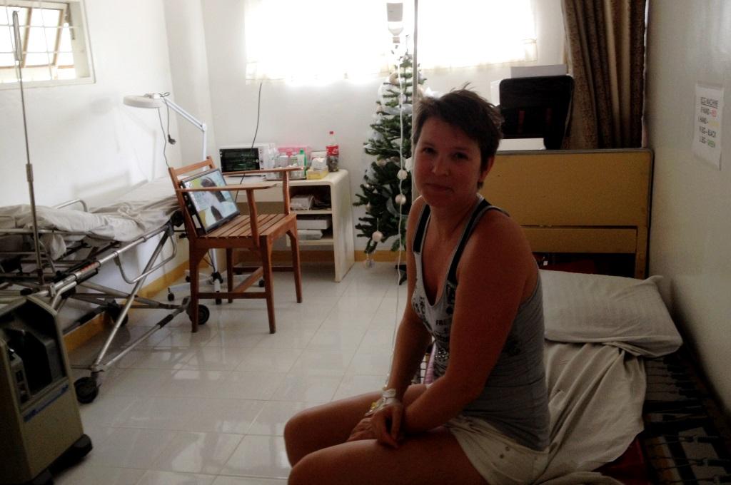Sjuk på Filippinerna - extra reseförsäkring