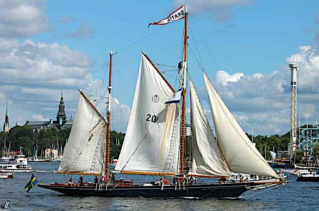 Segelbåten Gratia