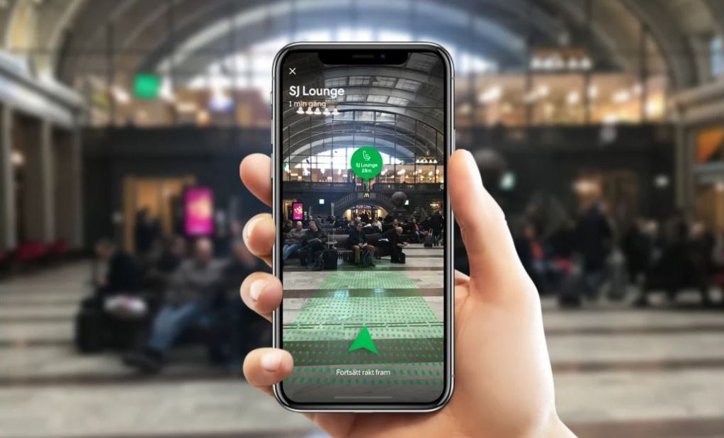 SJ Augmented reality