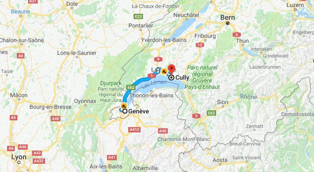Från Geneve till Cully