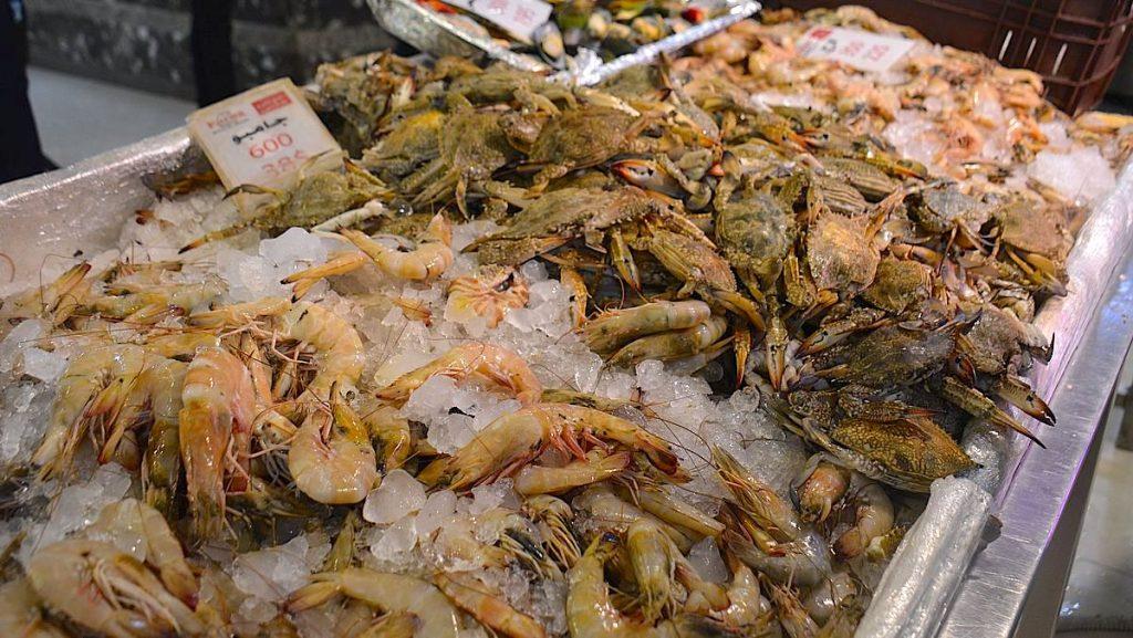 Mat i Egypten - fisk och skaldjur