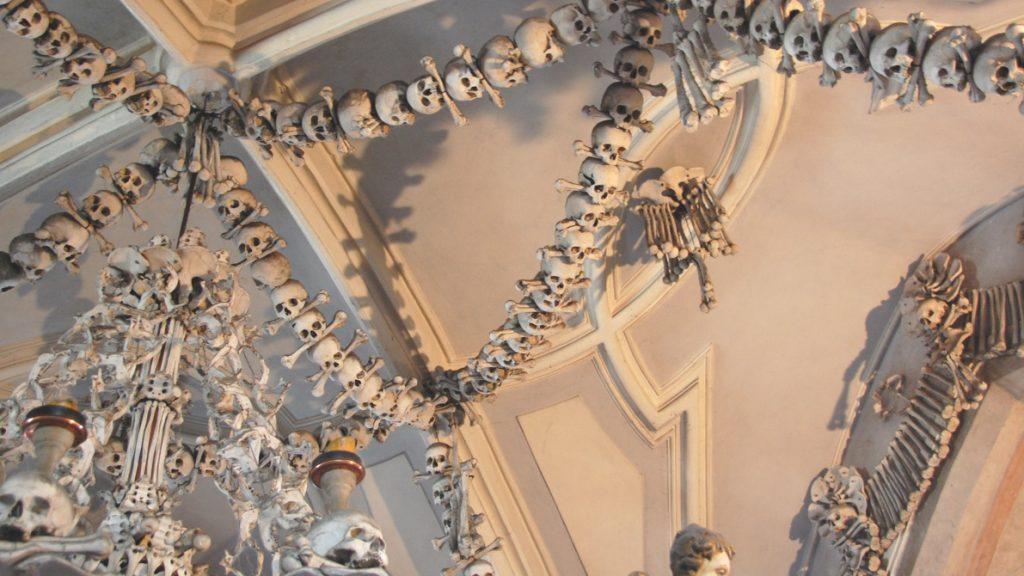 Skelettkyrkan i Sedlec