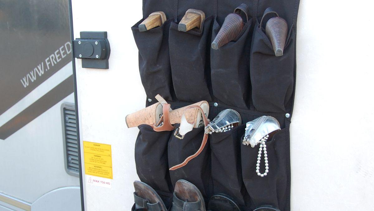 Skoförvaring i husbil